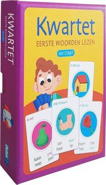 Kwartet Eerste Woorden lezen (avi start) / Deltas