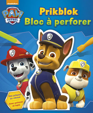 Paw Patrol Prikblok / Deltas