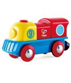 Locomotief Brave Little Engine (electrisch) 18+ mnd / Hape