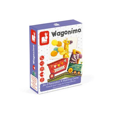 Kaartspel Wagonimo / Janod