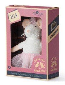 Het Muizenhuis: pluche muis Ella / Karina Schaapman