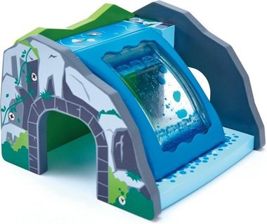 Treinbaan Waterval tunnel / Hape