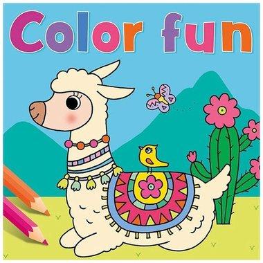 Kleurboek Lama Color Fun / Deltas