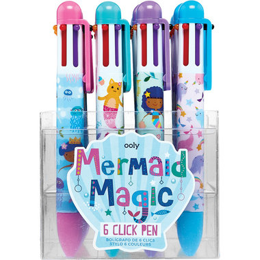 6 kleurenpen Mermaid Magic / Ooly