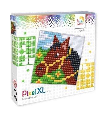 Pixel XL set Paard / Pixelhobby