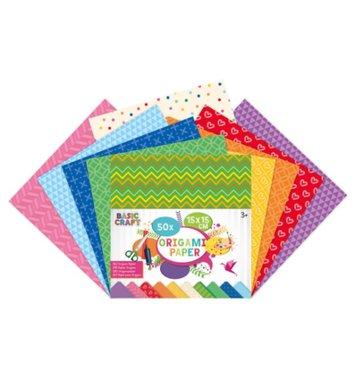 Origami vouwblaadjes met design