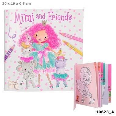 Princess Mimi and Friends kleurboek