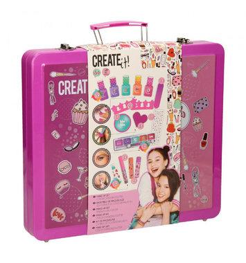 Luxe make up set in koffertje / Create it!