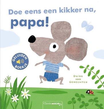 Geluidenboek: Doe eens een kikker na, papa! 2+ / Clavis