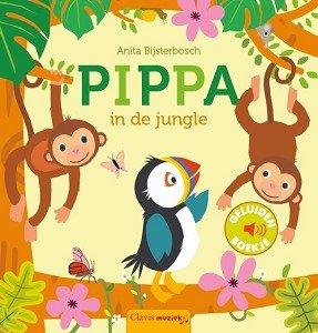 Geluidenboek: Pippa, in de jungle 2+ / Clavis