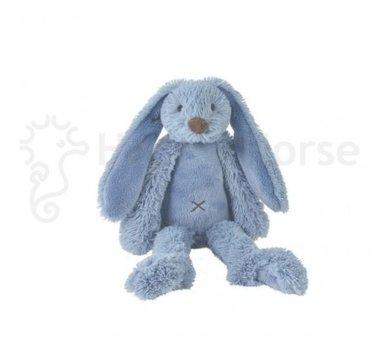 Konijn knuffel Tiny Deep Blue Rabbit Richie / Happy Horse