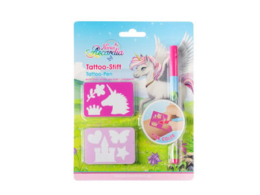 Tattoo pen met sjablonen / Nania Arcardia