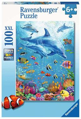 Bijeenkomst van de dolfijnen (100 XXl st) / Ravensburger