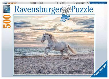Paard op het strand puzzel (500 st) / Ravensburger
