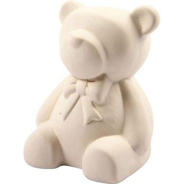 1. Knutselvoorwerp: Spaarpot keramiek beer