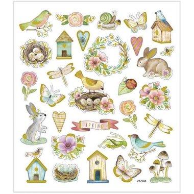 Stickers Voorjaar en Pasen