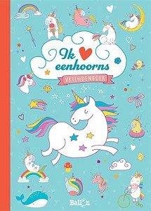 Vriendenboek Ik hou van Eenhoorns