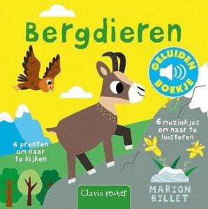 Geluidenboekje: Bergdieren. 1+ / Clavis