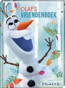 Vriendenboek Frozen 2-Olaf
