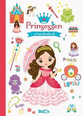 Vriendenboek Prinses / Ballon
