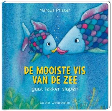 De Mooiste Vis van de zee gaat lekker slapen (kartonboek). 4+ / De Vier Windstreken