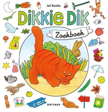 Dikkie Dik. Zoekboek. (kartonboek) 2+ / Gottmer