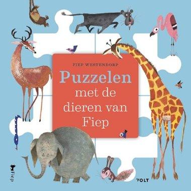 Puzzelen met de dieren van Fiep 3+. / Fiep Westendorp
