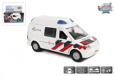 Politie NL bus (licht en geluid) / Kids Globe