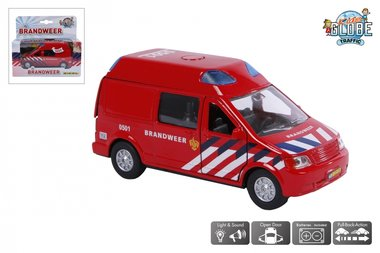 Brandweer bus (licht en geluid) / Kids Globe