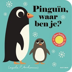 Pinguïn, waar ben je (karton). 2+ / Gottmer