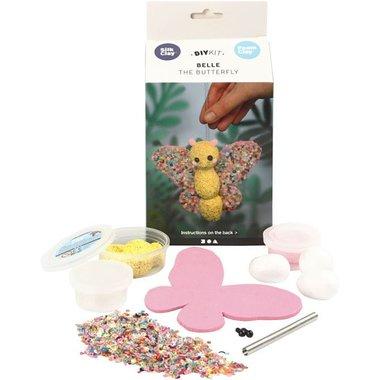 Knutselset Foam Clay Belle de vlinder