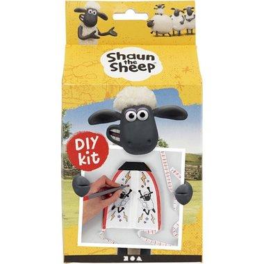 Vlieger met textielstiften Shaun het schaap / Hobby