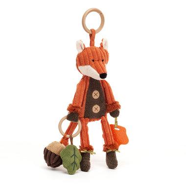Vos Cordy Roy Fox Activity Toy / JellyCat