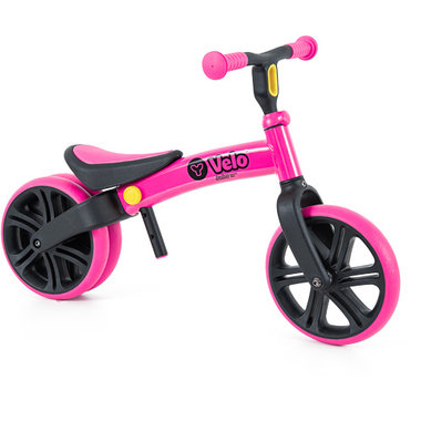 YVELO Junior loopfiets roze (1,5-4 jaar) / Yvolution