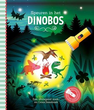 Zaklampboek - Speuren in het dinobos / Lantaarn