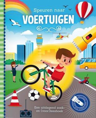 Zaklampboek - Speuren naar voertuigen / Lantaarn