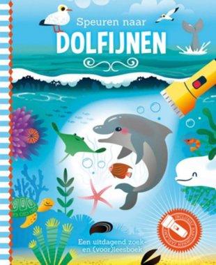 Zaklampboek- Speuren naar dolfijnen / Lantaarn