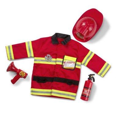 Verkleedkleding brandweer / Melissa & Doug