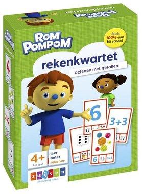 Rompompom rekenkwartet 4-6 jaar / Zwijsen