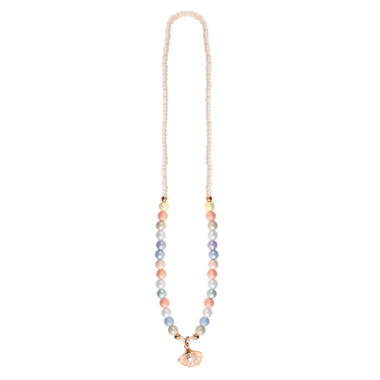 Boutique Pastel Shell ketting / Great Pretenders