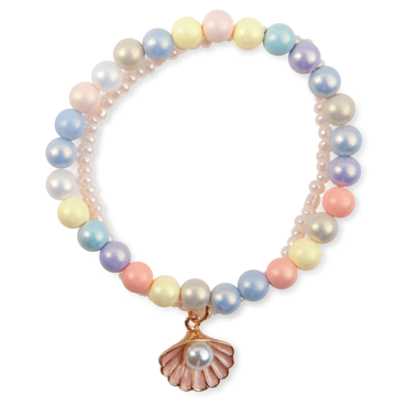 Boutique Pastel Shell armband / Great Pretenders