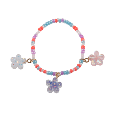 Boutique Shimmer Flower armband / Great Pretenders