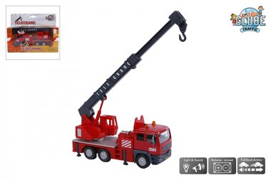 Brandweer Kraanwagen / Kids Globe