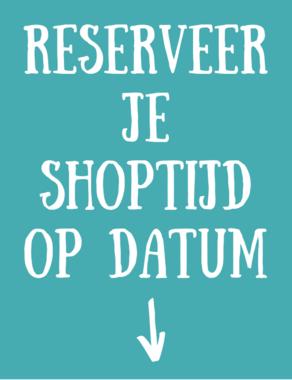 20 april (dinsdag) / Shoppen op Afspraak