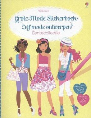 Het grote mode stickerboek: Lentecollectie / Usborne