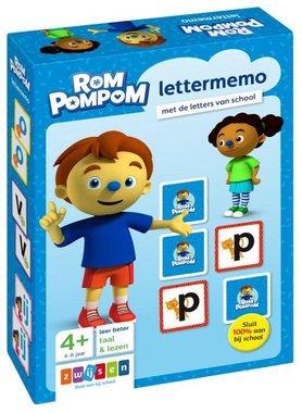 Rompompom lettermemo 4+ / Zwijsen