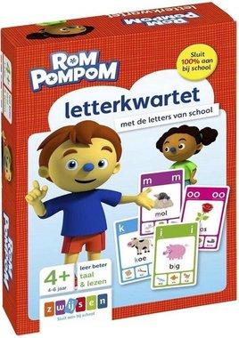 Rompompom letterkwartet 4+ / Zwijsen