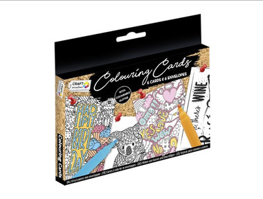 Kleurkaarten (6 stuks) / Craft Sensations