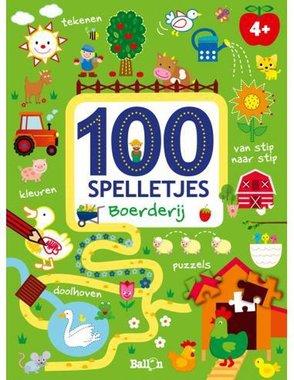 100 spelletjes - boerderij. 4+ / Ballon