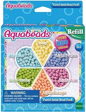 Parelpakket pastel (navulling) / Aquabeads